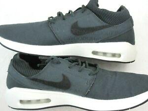 Details about Nike SB Mens Air Max Janoski 2 Premium Skate Shoes Anthracite Black Size 9.5 New
