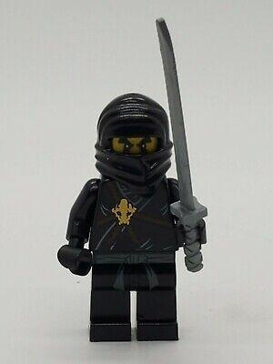 Ninjago lego mini figure BLACK NINJA COLE 2112 2516 2263