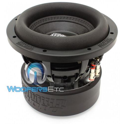 "SUNDOWN AUDIO SA-8 V.3 D4 SUB 8/"" 500W DUAL 4-OHM SUBWOOFER LOUD BASS SPEAKER NEW"