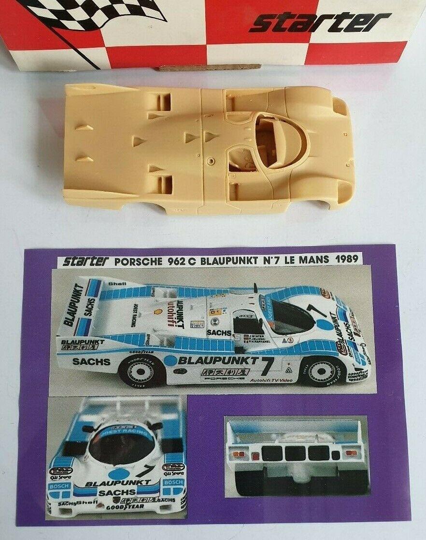 Porsche Joest 962 C bluepunkt LM 1989, Starter Kit 1 43
