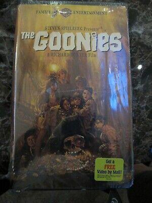 The Goonies Vhs 1997 Clam Shell Nib 85391327530 Ebay
