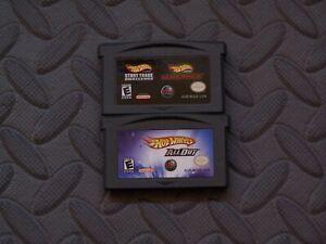 Lot Nintendo Game Boy Advance GBA Games Hot Wheels Titles 3