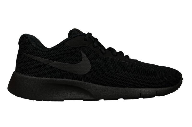 NIKE TANJUN GS 818381 001 turnschuhe lauschuhe jogging damen sneaker schwarz