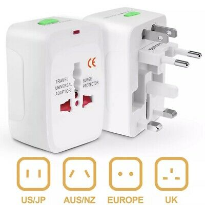 Universal AC Power Multi Purpose Plug Power Travel Adapter Sockets For European