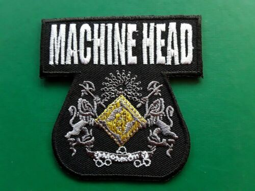 MACHINE HEAD AMERICAN THRASH HEAVY METAL MUSIC BAND EMBROIDERED PATCH UK SELLER