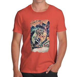 Men-039-s-Premium-Coton-Drole-High-amp-Mighty-Fantasy-Art-T-Shirt