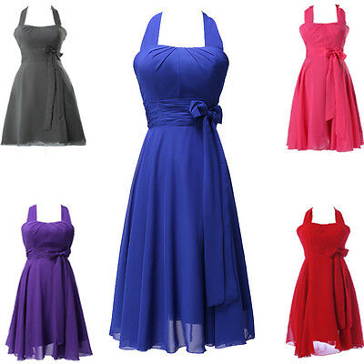 CHEAP Sexy Homecoming Prom Ball Gown Cocktail Short Bridesmaid Evening Dresses