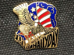pins-pin-ENAMEL-JOHNNY-HALLYDAY-EAGLE-WEST-DOS-QUADRILLE