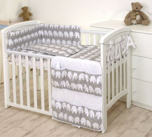 PINK  STARS//GREY BABY BEDDING SET COT or COT BED MULTIAUCTION MORE DESIGNS