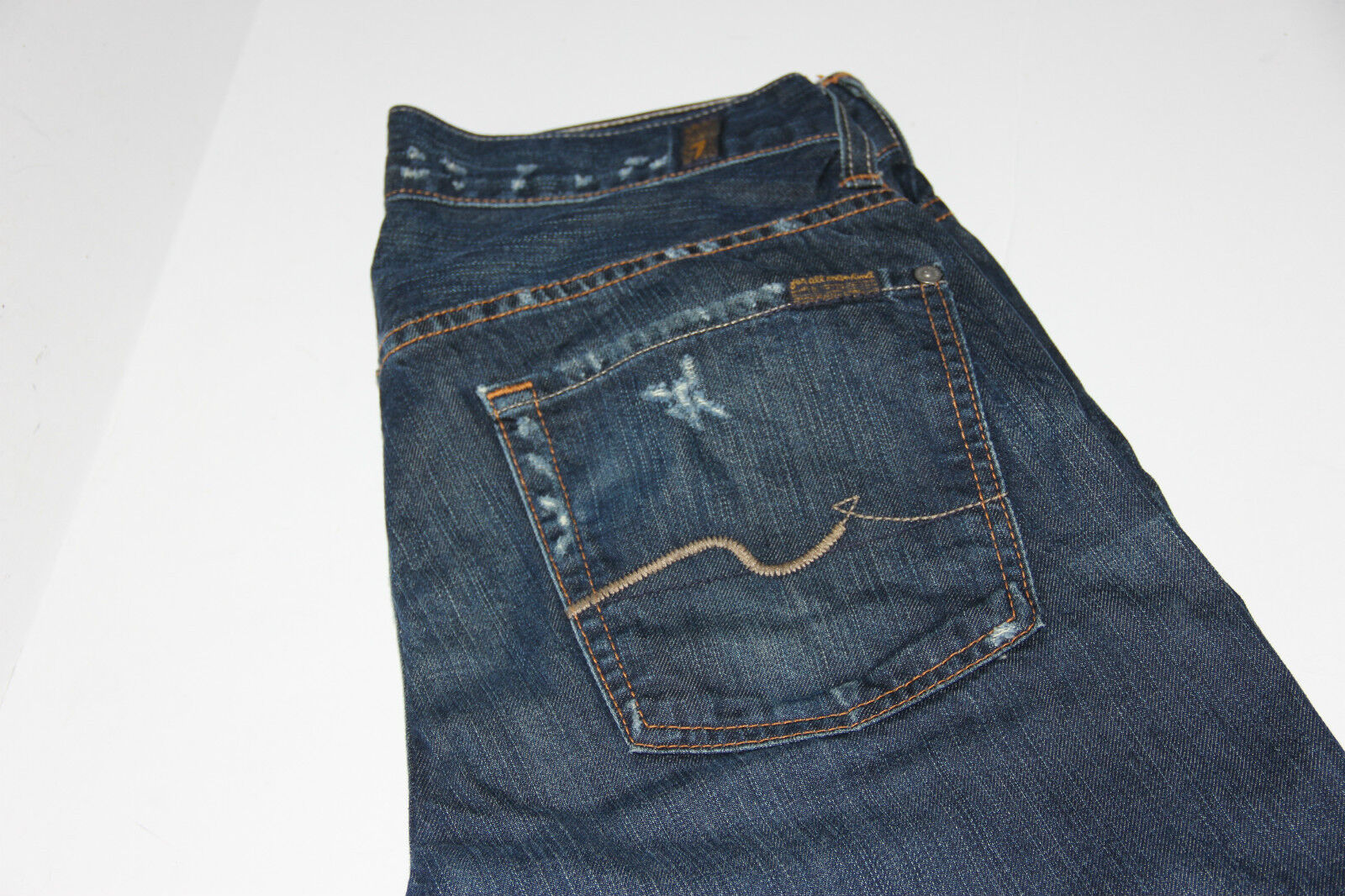 7 FOR ALL MANKIND Destroyed AUSTYN Men Jeans Sz 30