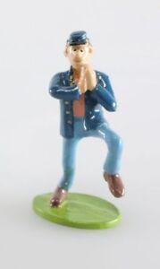 Figurine métal Tuniques Bleues (Les) Soldat dansant et claquant des mains