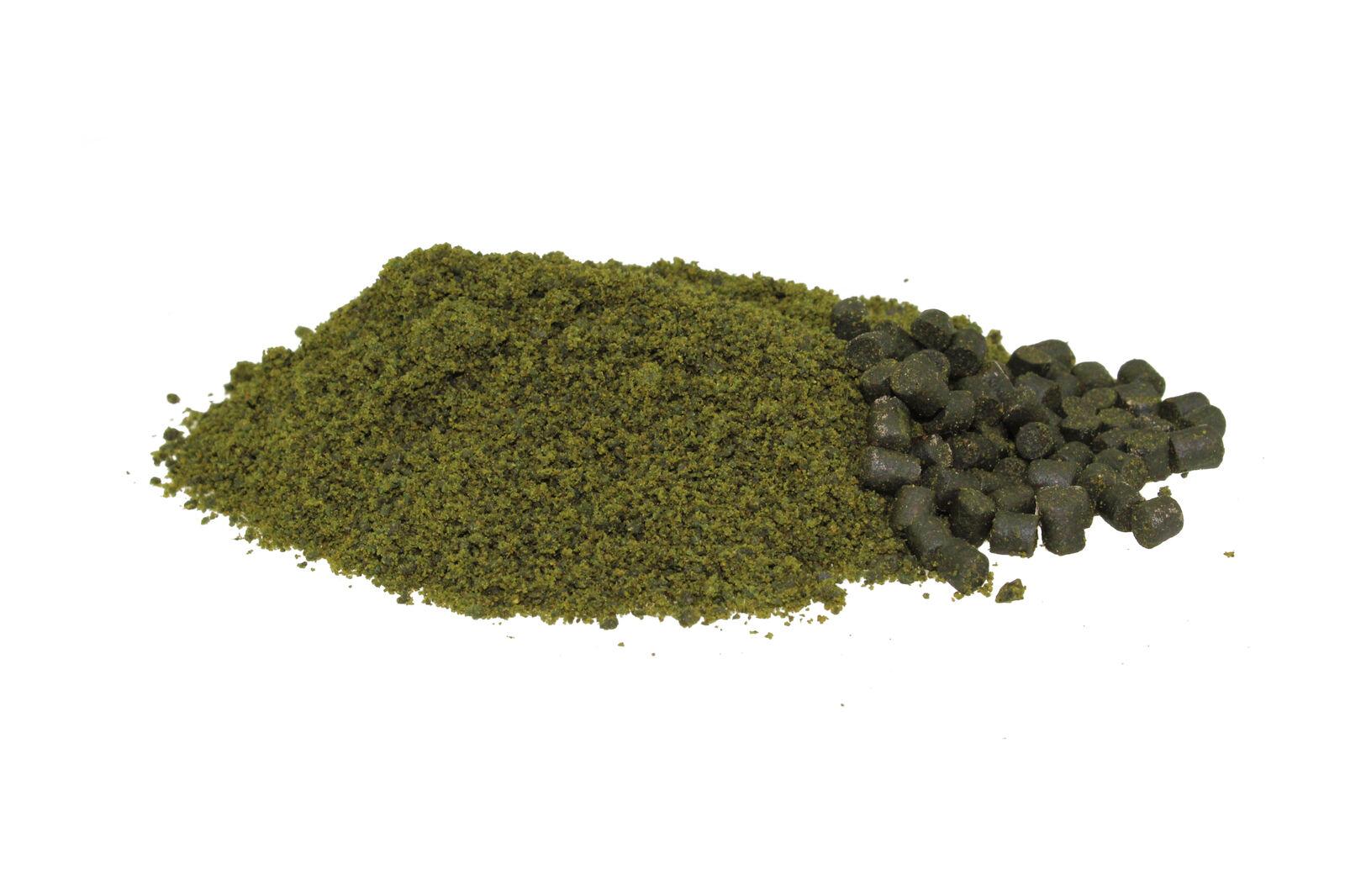 3,90 Eur   kg green Bétaïne Crush 10kg Granulaire Pellets de Flétan Broyé