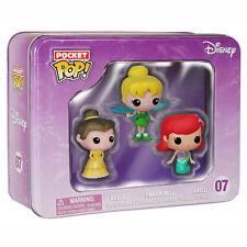 Disney Pocket POP 3 Pack Princesses Vinyl Figures NEW Toys Funko Cute Figures
