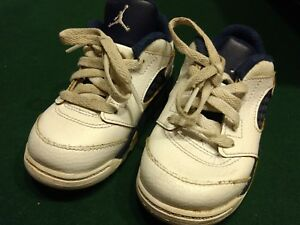 e39c8bee667152 Air Jordan 5 V Retro Low Dunk From Above White Navy Gold 819171 135 ...