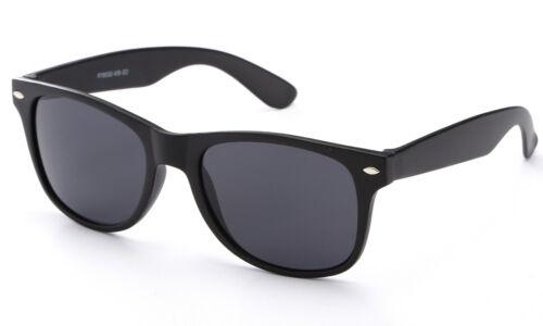 Kids Sunglasses Retro Black Frame Boys Girls UV 100/% Lead Free FDA Approved