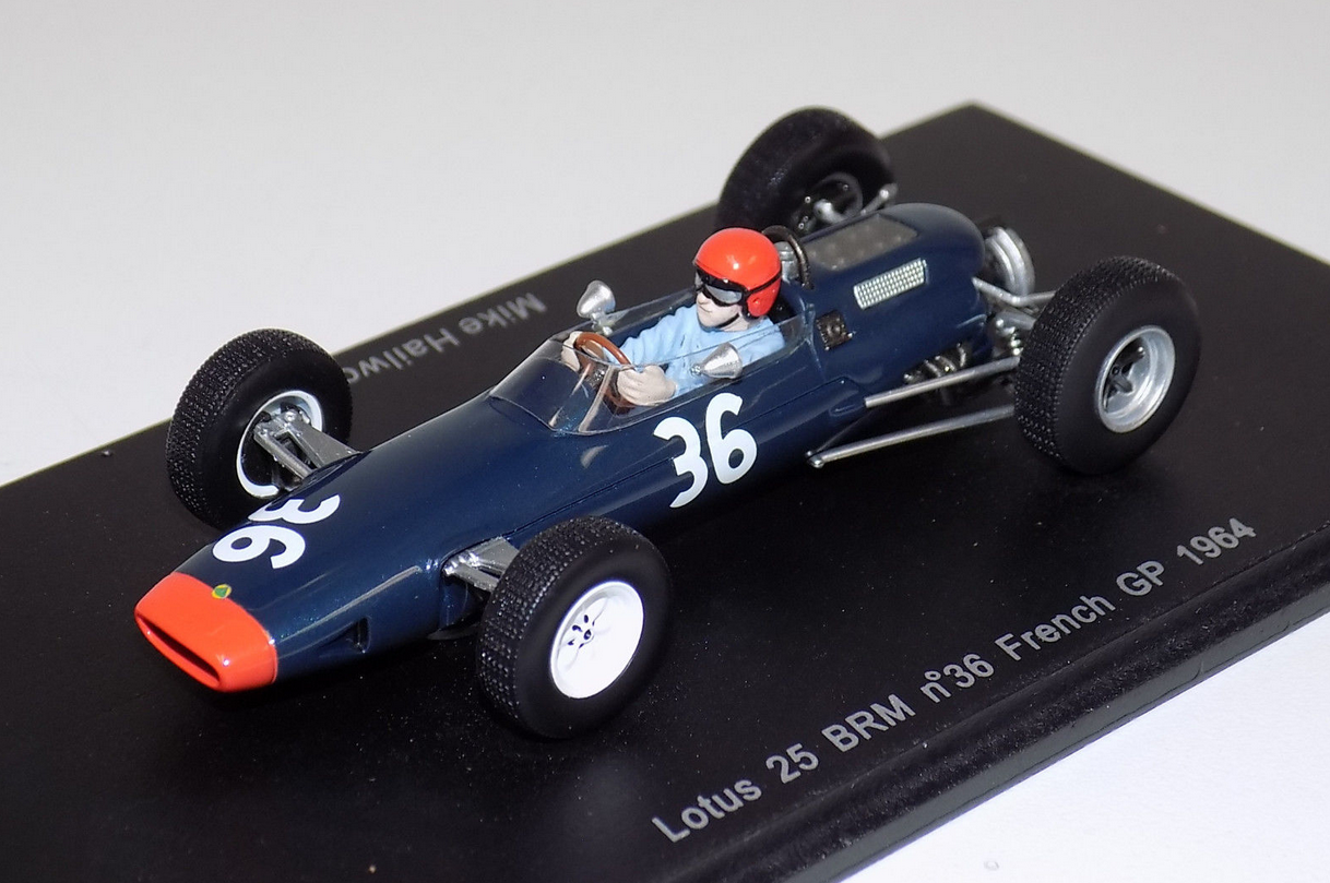Lotus 25 BRM  GP French  1964 M.Hailwood S1612 1 43 Sparkmodel