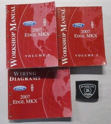 2007 ford edge lincoln mkx service shop repair manual. Black Bedroom Furniture Sets. Home Design Ideas