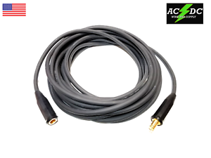 Welding Cable Extension 50/' w// Disconnects 1//0 Size US Made free shipping New