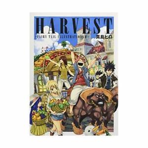 Harvest-Fairy-Tail-Illustrations-II-Hiro-Mashima-Works-Anime-Art-Book