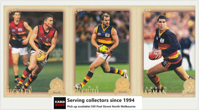 AFL Hall Of Fame Trading Card Club Card Collection(1996-2012) Adelaide (3)