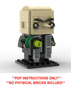 Deadpool PDF INSTRUCTIONS ONLY Lego Brickheadz CustomMOC