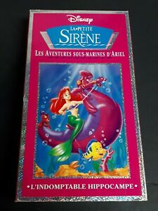 Disney-Little-Mermaid-Volume-4-VHS-French-Version-Animated-TV-SHOW