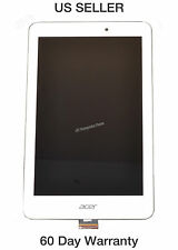 NEW ACER A1-840FHD COMPLETE LCD ASSEMBLY TOUCH W/FRONT COVER WHITE 6M.L4JN9.001