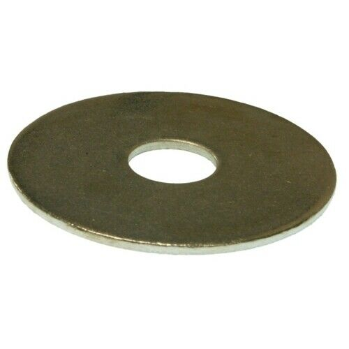 """Pack of 100 Metallics JW113SS 1//4/"""" x 1/"""" Fender Washer Stainless Steel"""