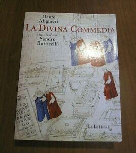 DANTE-ALIGHIERI-Comedia-Integrale-tavole-del-BOTTICELLI-casa-editrice-Le-Lettere