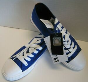 New-York-Giants-NFL-Men-039-s-Low-Top-Big-Logo-Canvas-Shoes-With-Free-Shipping