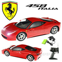 Official Licensed 1:14 Ferrari 458 Italia Rc Radio Remote Control Car Ep Rtr