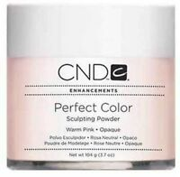 Cnd Creative Nail Powder Perfect Color Warm Pink 3.7 Opaque Sculpting Powder