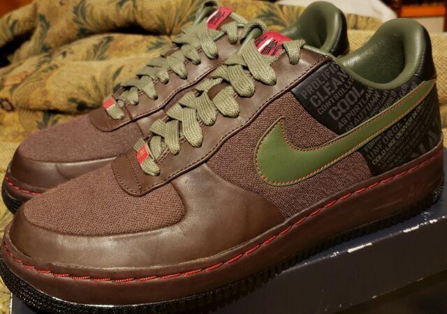 2007 Nike Air Force 1 Supreme 'Calvin Natt' Original Six Men's 9.5 VNDS