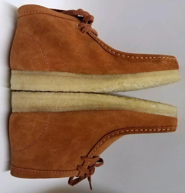 CLARKS Original tan Vintage Gamuza Wallabee Weaver botas Hombre (EE. UU.)