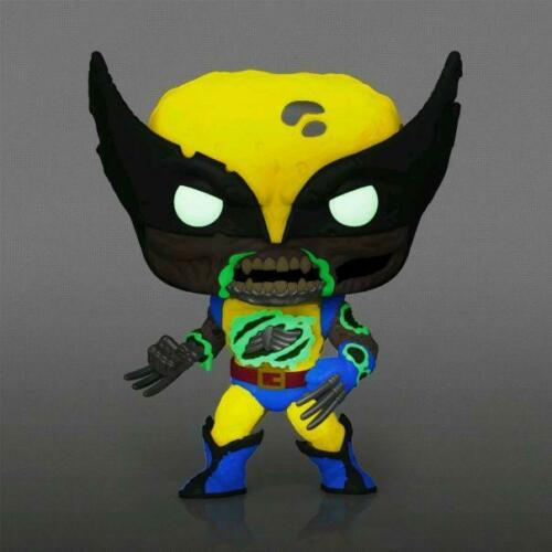 Marvel Zombies Vinyl Wolverine Glow Funko Pop