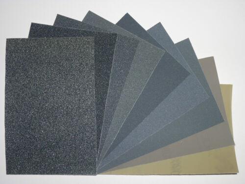 5 Kits Micro-malla MX-Kits de paño de pulido abrasivo 6 Tamaños para Elegir