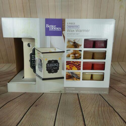 Better Homes and Garden Wax Warmer Inspiration 5 Piece Starter Set B308