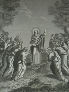Jesus-Christ-Appears-a-Ses-Disciples-in-Galilee-Gravure-of-1863