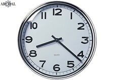 IKEA PUGG Wall Clock, Stainless Steel Chrome-Plated