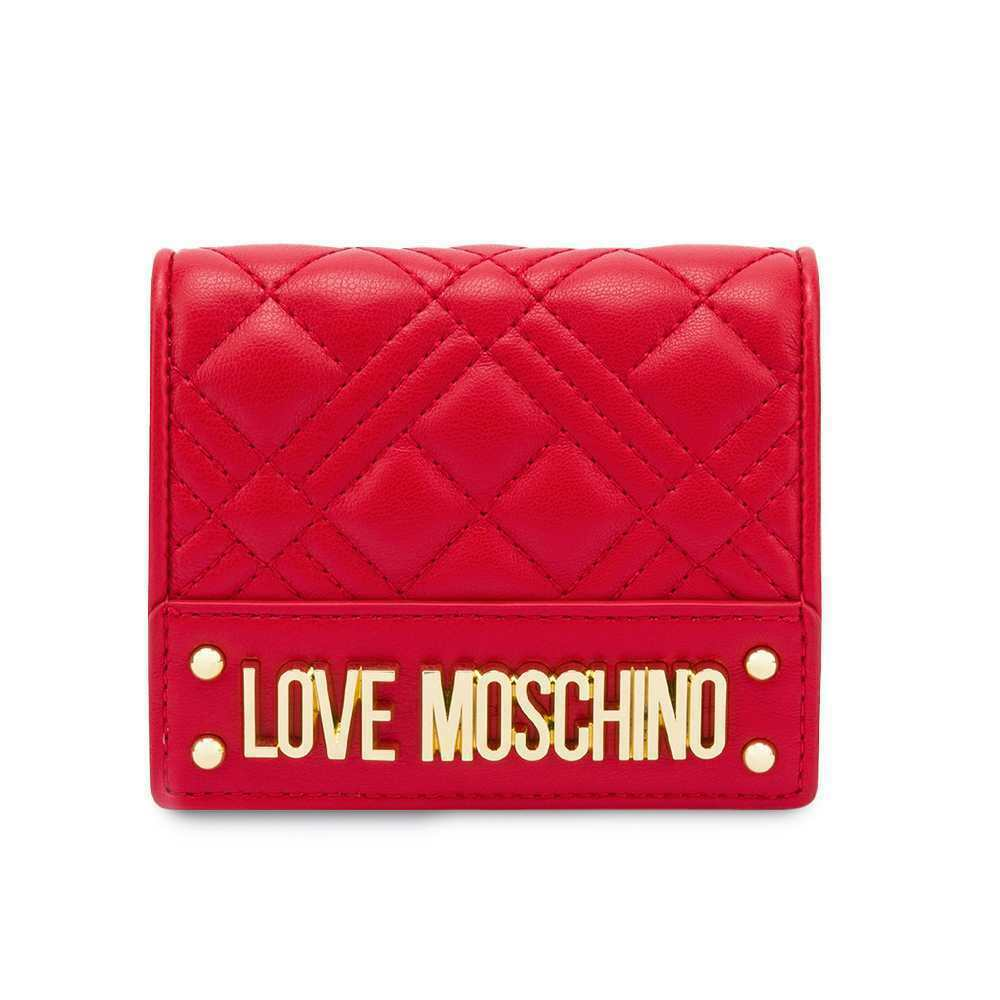 Love MOSCHINO Wallet Woman Red