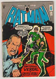 BATMAN-nuova-serie-n-6-1972-Williams-BUONO