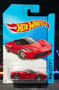Hot Wheels 2014 Ferrari Laferrari Red Hw City Ebay