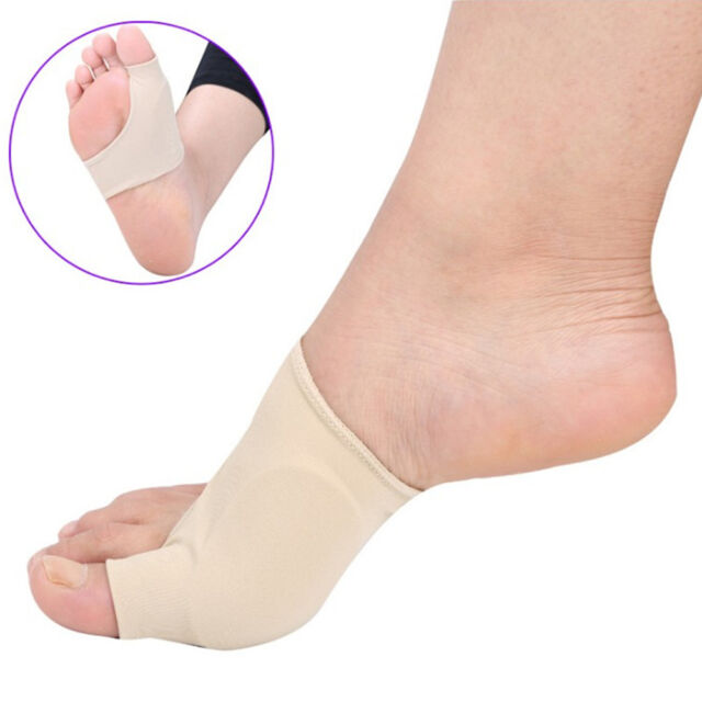 2x Silicone Big Toe Straightener Bunion Hallux Valgus Protect Cover Pain Relief