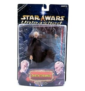 Hasbro-2002-Star-Wars-Unleashed-Darth-Tyranus-Action-Figure