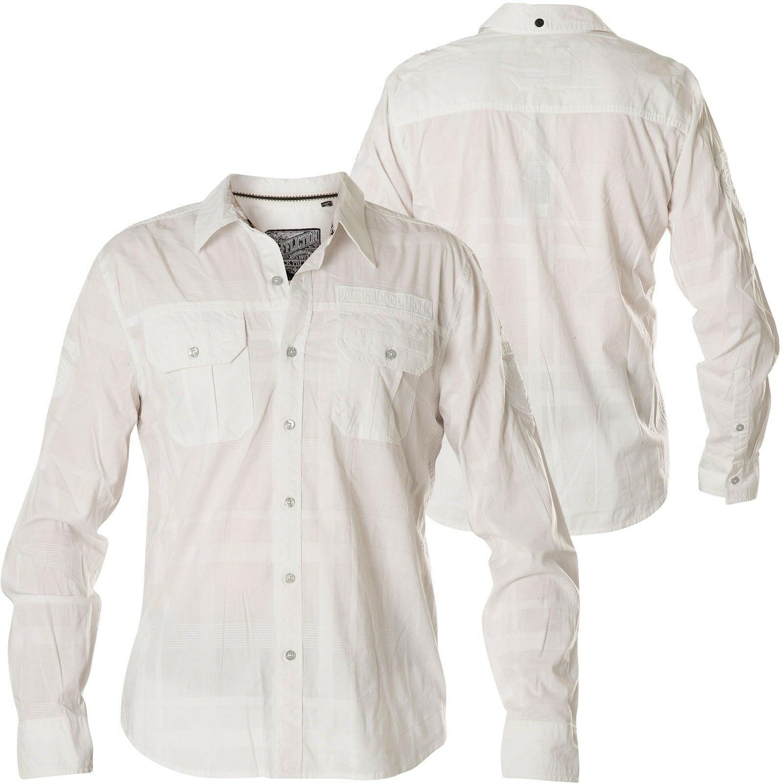 Affliction Camicia commend camicie bianco