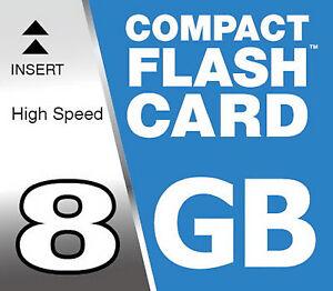 8-GB-Flash-Compatto-SCHEDA-DI-MEMORIA-CARD-CF-per-Sony-Alpha-900-DSLR-digitale