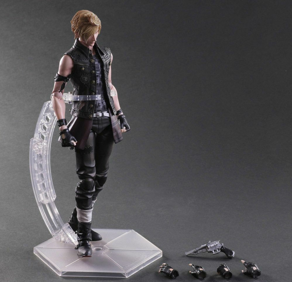 Spielen kunst kai final fantasy xv prompto Silberum pvc - actionfigur modell statue