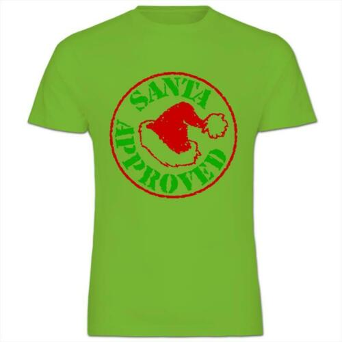 Santa Approved Seal of Approval for Christmas Kids Boy Girl T-Shirt