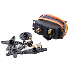 MG995 High Speed Torque Metal Gear RC Servo With Parts Fit Car Boat Helicopter