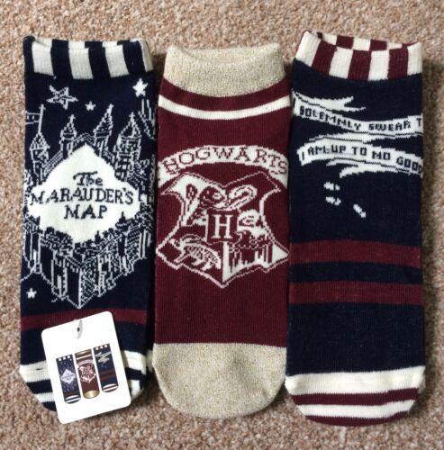 Harry Potter Women/'s Socks Underwear New Gryffindor Slytherin Primark Hogwarts
